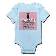 Daddys Little Ninja Body Suit