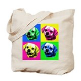 Pop Art Puggle<bR> Tote Bag