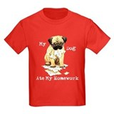 Pug Ate Homework T