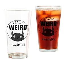 Cute Teachers Drinking Glass