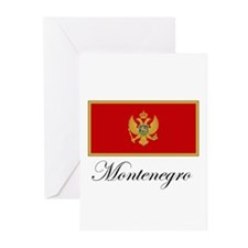 Montenegro - Flag Greeting Cards (Pk of 10)