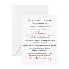 Baptismal Covenant Greeting Card