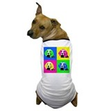 Pop Art Bagel<br> Dog T-Shirt