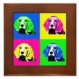 Pop Art Bagel&lt;br&gt; Framed Tile