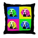 Pop Art Bagel<br> Throw Pillow