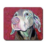 Weimaraner-Just a Sniff Mousepad