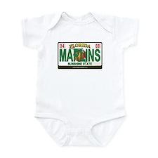 Florida Plate - MARLINS Infant Bodysuit