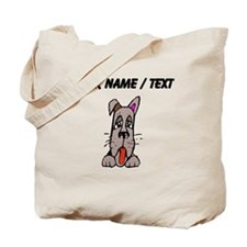 Custom Dog Face Tote Bag