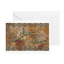 Navajo Ponies Greeting Card