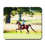 Park Trot (watercolor) Mousepad