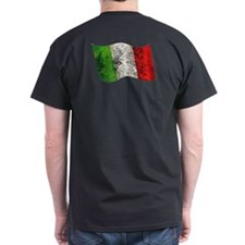 Retro flag of Italy T-Shirt