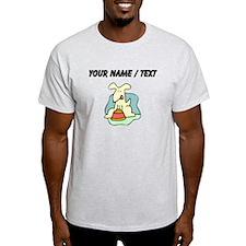 Custom Dog And Food T-Shirt