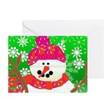 Winter Snowman Greeting Cards (Pk of 20)