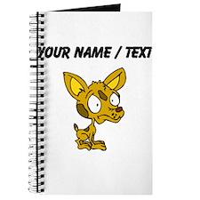 Custom Cartoon Chihuahua Journal