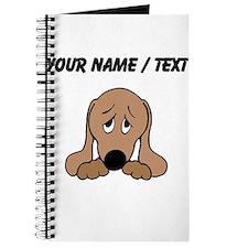 Custom Sad Dog Journal