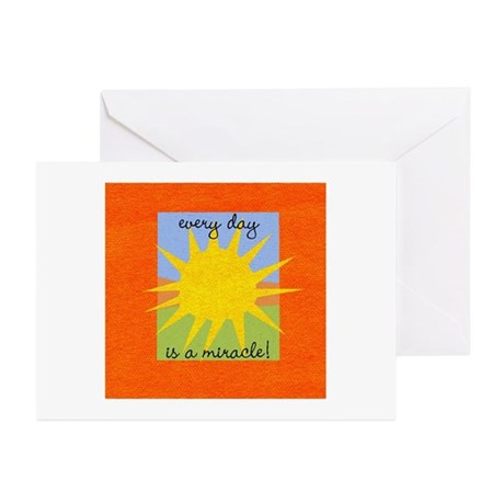 Every day is a miracle Greeting Cards (Pk of 10)