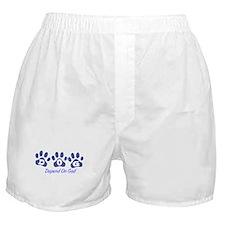Blue DOG Boxer Shorts