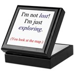 I'm Not Lost! Keepsake Box