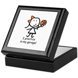 Basketball - Garage Keepsake Box