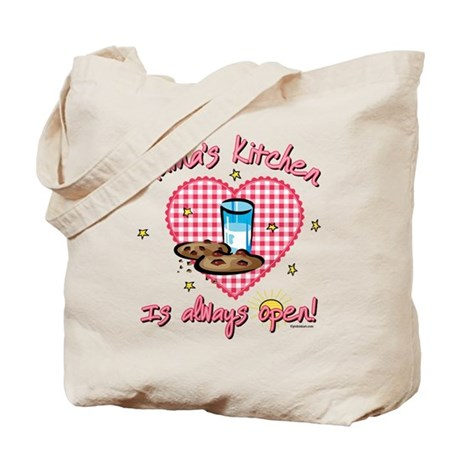 Mama's Kitchen Open Tote Bag