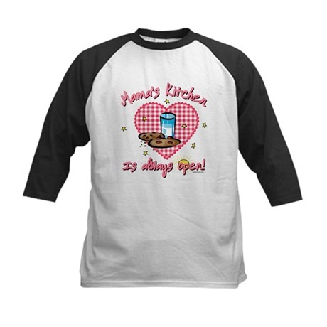 Mama's Kitchen Open Kids Baseball Jersey