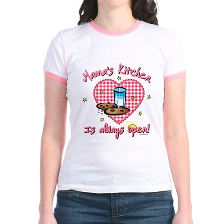 Mama's Kitchen Open Jr. Ringer T-Shirt