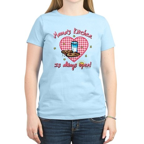 Mama's Kitchen Open Women's Light T-Shirt