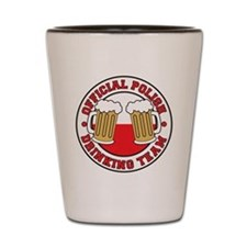 Official Polish Drinking Team Drinkware Shot Glass