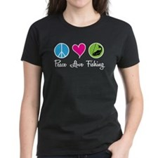 Peace Love Fishing Tee