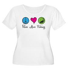 Peace Love Fishing T-Shirt