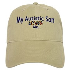 My Autistic Son Loves Me Baseball Cap
