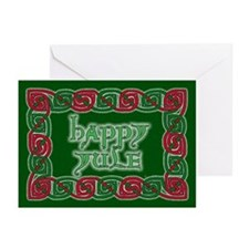 Celtic Happy Yule Greeting Cards (Pk of 20)