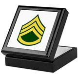 "Army E6 ""Class A's"" Keepsake Box"