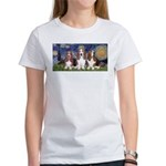 Starry Basset Women's T-Shirt