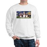 Starry Basset Sweatshirt