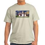 Starry Basset Light T-Shirt