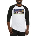 Starry Basset Baseball Jersey