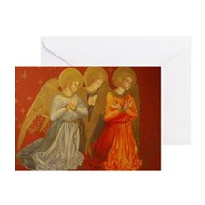 Angels Christmas w Love Greeting Cards (Pk of 10)