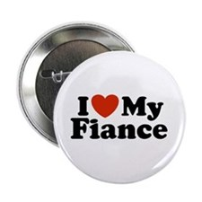 I Love My Fiance Button