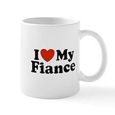 I Love My Fiance Mug