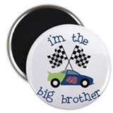 big brother race car Magnet