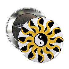 Sun Tao Yin Yang Symbol Button