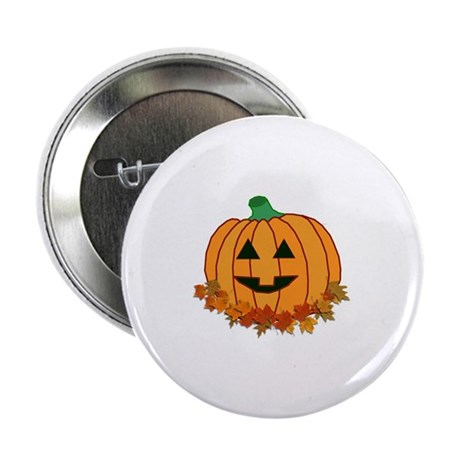 "Halloween Jack-o-lantern 2.25"" Button (10 pack)"