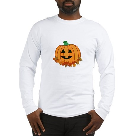 Halloween Jack-o-lantern Long Sleeve T-Shirt