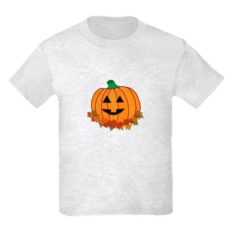 Halloween Jack-o-lantern Kids Light T-Shirt