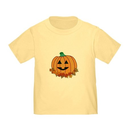 Halloween Jack-o-lantern Toddler T-Shirt