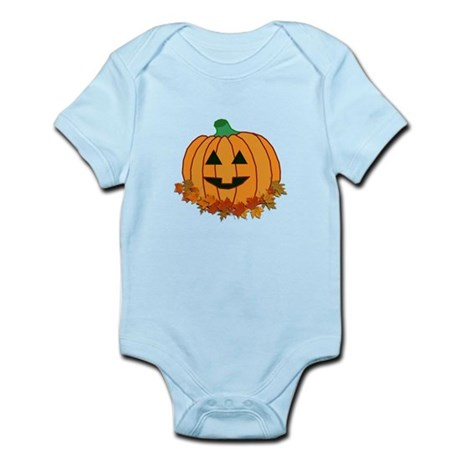 Halloween Jack-o-lantern Infant Bodysuit