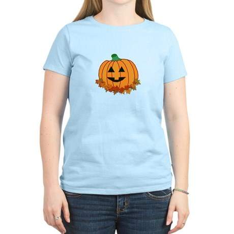 Halloween Jack-o-lantern Women's Light T-Shirt