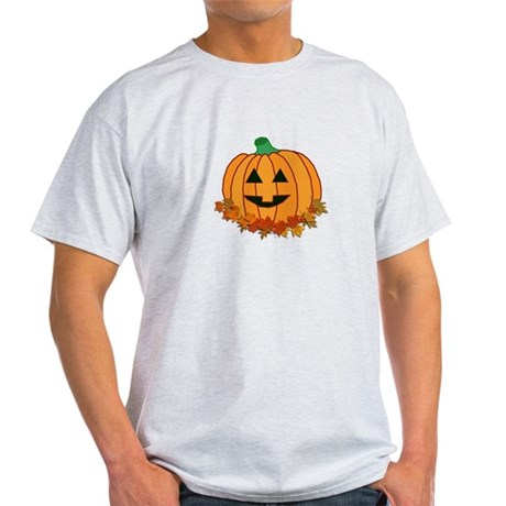 Halloween Jack-o-lantern Light T-Shirt