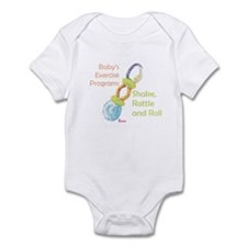 Cute Rattles Infant Bodysuit